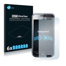 6x Displayschutzfolie für Samsung GT-I9001 Klar Schutzfolie Displayfolie