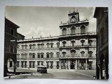 MODENA Accademia Militare BUS FILOBUS albergo Touring vecchia cartolina