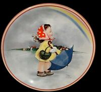 Mabel Lucy Atwell Collectors Plate~RAINBOWS~1988~Limited Edition w/COA~Davenport