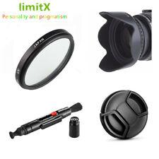 Bundle 58mm UV Filter Lens hood Cap Cleaning pen for Canon EF-S 18-55mm lens