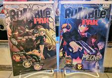 Rumble Pak, Issues 1 and 4, EigoManga, OOP/NM/UNREAD