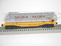 LIONEL UNION PACIFIC AMERICAN PROUD FLAT CAR GIRDERS LOAD O GAUGE FREIGHT
