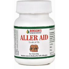 Pack of 5 Homeopathic Bakson Aller Aid 75 Tablets Free Shipping