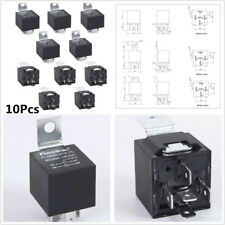 High Quality 10x 12V 30/40 Amp 5-Pin SPDT Electrical Relays For Car Alarm Fitter