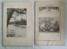 Vintage, Lot (2) 1929 Missouri Game and Fish Conservationist Commission - Rare
