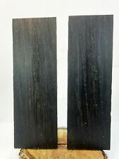 Bog Oak (Morta Wood) Knife Scales 1000 to 6000 Years Old W140