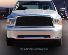For 2009-2012 Dodge Ram 1500 Black Billet Grille Lower Bumper Grill Insert Fedar