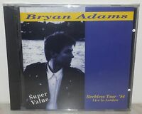 CD BRYAN ADAMS - RECKLESS TOUR '84 - LIVE IN LONDON - NUOVO - NEW