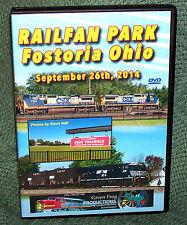 "20337 TRAIN VIDEO DVD ""RAILFAN PARK FOSTORIA OHIO"" 2014"