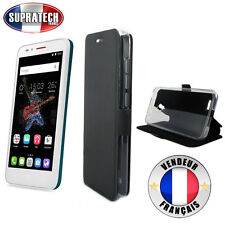 Etui Rabattable Noir Avec Support pour Alcatel One Touch Go Play