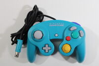 Official Nintendo GameCube Controller Pad Teal Emerald Blue Tight OEM GC GO596