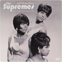 DIANA & THE SUPREMES ROSS - YOUR HEART BELONGS TO ME 180G  VINYL LP NEW!
