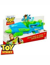 2 x Toy Story Buzz Lock & Load Water Blaster Disney Age 3+ bundle Lightyear
