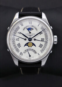Longines Master Collection 4x Retrograde Moonphase Automatic Watch L27384713 (Pr