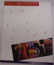 Chevrolet Magazine Camaro & Chevette 1986 122614R