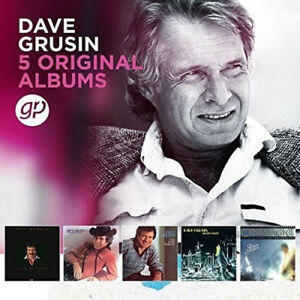Dave Grusin : 5 Original Albums CD Box Set 5 discs (2018) ***NEW*** Great Value