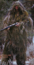 3 PC Ghillie Suit for Bow Deer Hunt Hunting - Your CHOICE Size & Camo Color! NEW