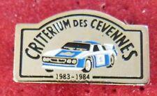RARE PIN'S RALLYE LANCIA 037 CRITERIUM DES CEVENNES 1983 1984