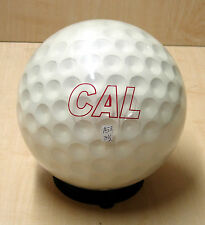 * 15#  Former Display * Oldie but Goodie * CAL GOLF Clear Bowling Ball