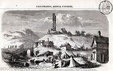 ARQUATA: Posto di Guardia sulla Scrivia. Alessandria.Piemonte. Risorgimento.1859