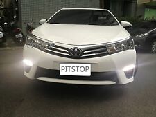 Toyota COROLLA ALTIS 14-on LED DRL Daytime running light+OEM fog lamps lights