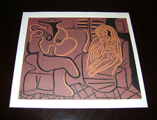Picasso approx.1980 color lino cut SPADEM Ltd. Edition2