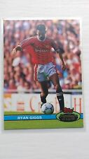 Ryan Giggs ROOKIE Card - Topps Stadium Club 1992 Cards - Near MINT