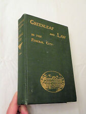 1901, Greenleaf and Law in the Federal City, Allen C. Clark, HB, Priv Pres, VG+