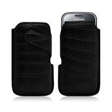 Housse coque étui pochette style croco pour Samsung Chat 335 S3350