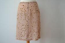 Knielange Damenröcke im A-Linien-Stil aus Seide für
