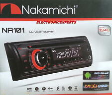 NAKAMICHI NA101 Car Stereo Radio CD/USB/AUX 50Watts x 4 Detachable Face security