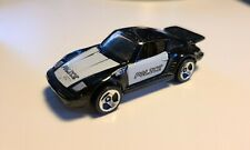 "Hot Wheels - Porsche 930 - Black ""Police"" - from 2001 Cyborg City 5-pk - Loose"