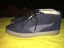 Puma By Hussein Chalayan Mens Athletic Shoes Suede Navy Size 10 Us