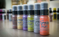 TIM HOLTZ DISTRESS PAINT DABBER BY RANGER 29ML IN VARIOUS COLOURS TO CHOOSE FROM