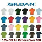 Gildan Mens T Shirts 5000 Solid Heavyweight Cotton Short Sleeve Blank Tee S-3XL