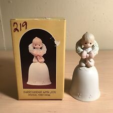 "Precious Moments Bell 1983 "" Surrounded with Joy �"