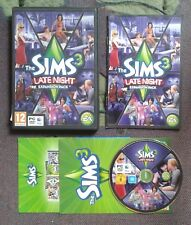 The Sims 3: Late Night Expansion for PC, DVD-ROM and Apple Mac - Complete, VGC