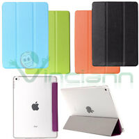 Pellicola+Custodia Smart cover per Apple iPad Mini 4 case stand sottile nuova