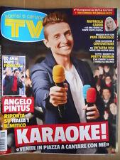 TV Sorrisi e Canzoni n°13 2015 Raffaella Carrà Pretty Woman Karaoke  [D46]