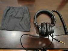Denon DJ Headphone - HP800, Pouch. Excellent Condition