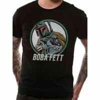 Men's Star Wars Retro Boba Fett Black T-Shirt