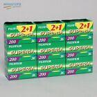 60x Fujifilm Superia 200 135-36 Kleinbildfilm Analogfilm Farbfilm