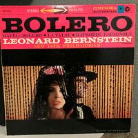 "LEONARD BERNSTEIN - Bolero (1958 Masterworks MS 6011) - 12"" Vinyl Record LP - EX"