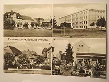 Elsterwerda - Kr. Bad Liebenwerda - 4-Bild-Karte / AK