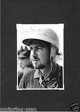 JO BONNIER JOAKIM BONNIER PORSCHE SIGNED AUTOGRAPHED PHOTOGRAPH