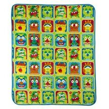 ALEX MOODY MONSTERS FLEECE THROW BLANKET WITH BACK PACK