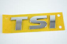5G0853675 I TSI Schriftzug Emblem  Logo selbstklebend VW Audi Seat Skoda silber