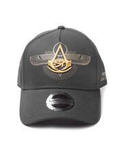 Offizielles Ubisoft-ASSASSIN 'S CREED Herkunft-Symbol schwarz Basecap (NEU)