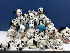 "VTG & Modern LOT 30 Disney 101 Dalmatians Dogs Pups Plush Toys 6"" to 19"" Used"