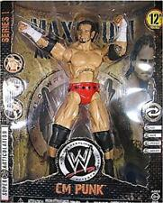"WWE 12"" MAXIMUM AGGRESSION SERIES 2 CM PUNK WRESTLING FIGURE"